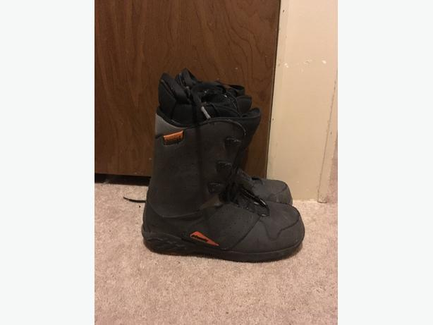 used atomic snow board boots