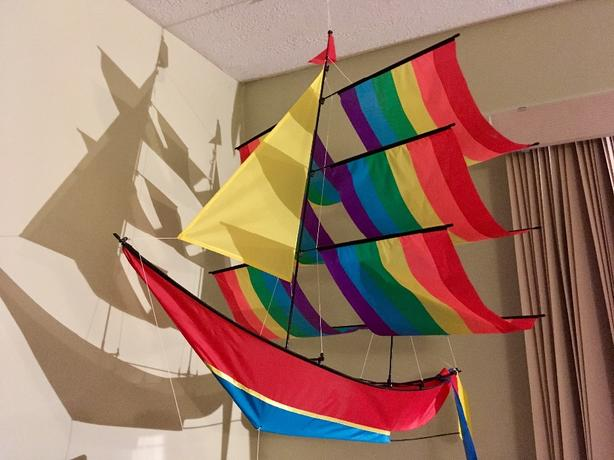 kite, sailboat ketch