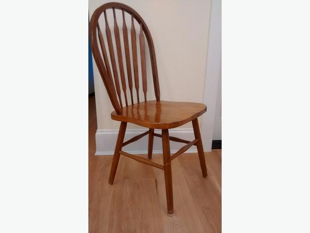 4 Oak Chairs