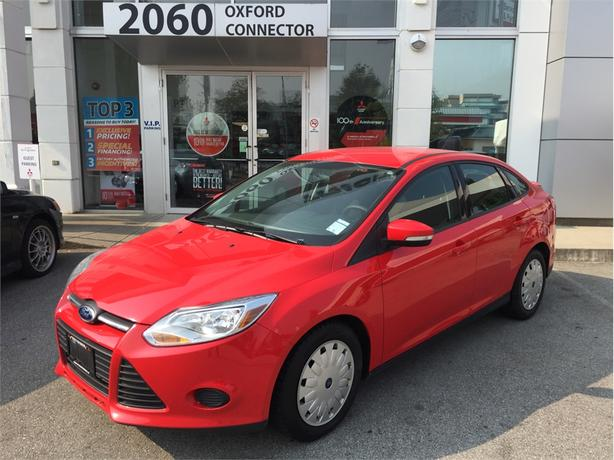 2013 Ford Focus SE WITH A/C, POWER GROUP & LOW KMS
