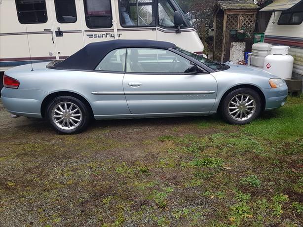 2001 Sebring convertible