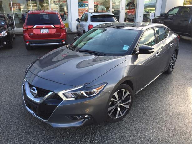 2017 Nissan Maxima SL, NAVIGATION, LEATHER, PANORAMIC SUNROOF