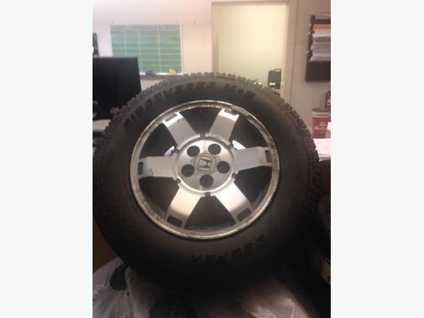 honda pilot wheels&tires
