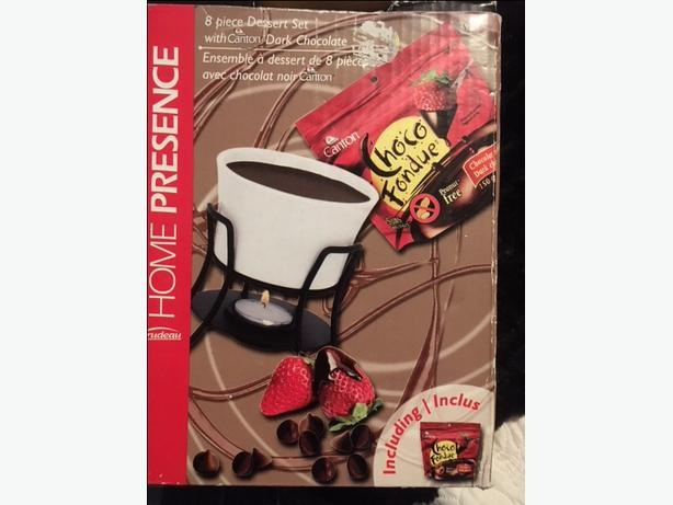 Chocolate fondue set