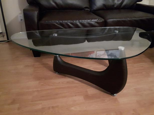 MOVING SALE - Glass Coffee Table