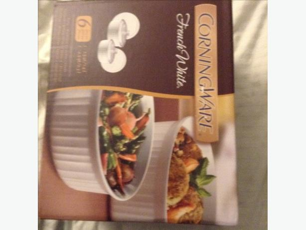 Corning ware casserole 6 piece set