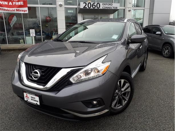 2017 Nissan Murano SL NAVIGATION, LEATHER, PANORAMIC SUNROOF