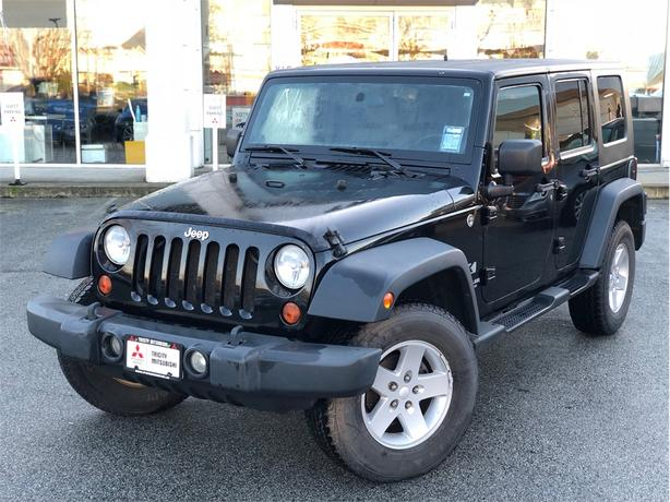 2009 Jeep Wrangler X UNLIMITED HARDTOP, MANUAL