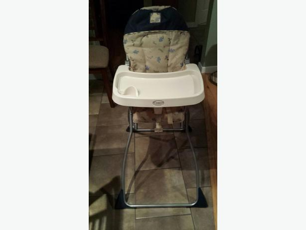 Folding high chair