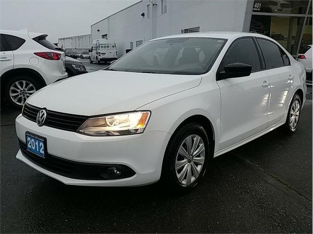 2012 Volkswagen Jetta 2.0L Trendline Plus 5sp Manual