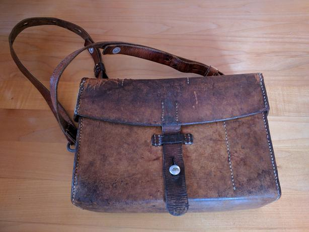 Antique Swiss Army medical bag 1912