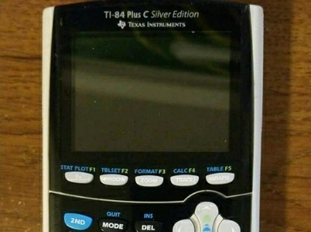 TI-84 TEXAS INSTRUMENT CALCULATOR