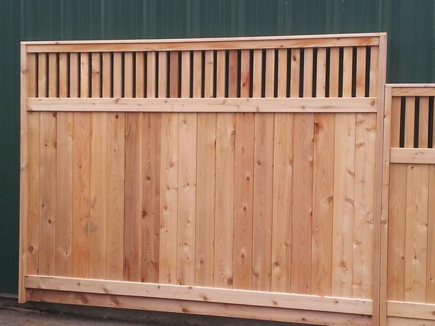 [BLOW OUT SALE] STARTING At $99.99 THICKEST CEDAR FENCE PANEL