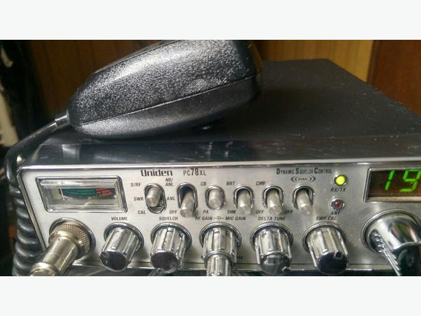 Uniden PC78XL CB Radio - 60.00 FIRM