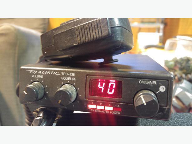 Realistic TRC-438 Slim Line CB Radio - 30.00 FIRM