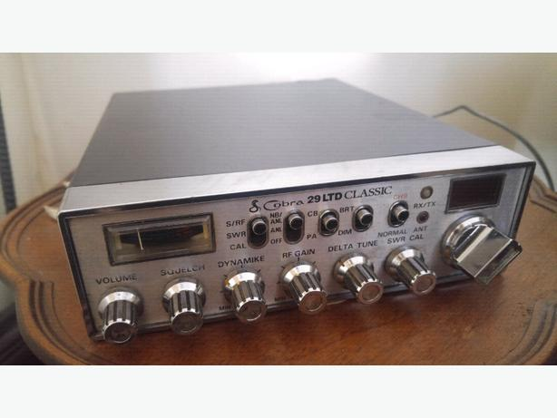 Cobra 29 LTD Classic CB Radio - 50.00 FIRM