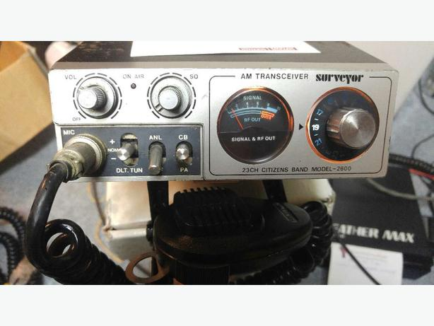 **READ AD**Surveyor CB Radio-20.00 FIRM