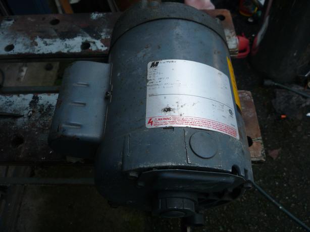 1 HP motor