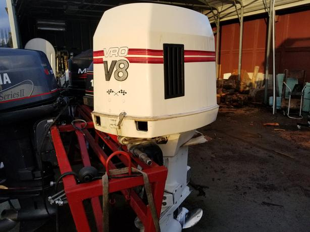 Log In needed $5,500 · 300HP JOHNSON V8 OUTBOARDS 2OF SET COMPLETE WITH  RIGGING
