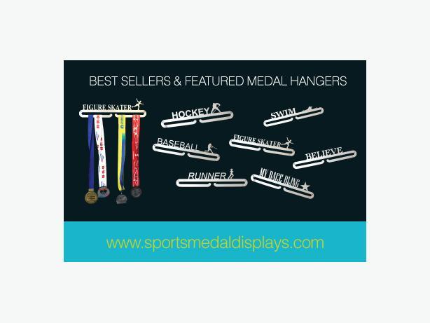 Sports Medal Display Unit, 3-D