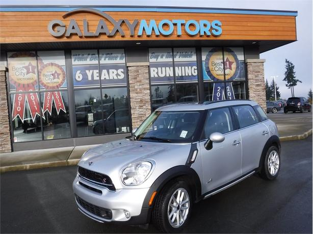 2016 Mini Cooper Countryman S-S COUNTRYMAN- TURBO, PANORAMIC ROOF, LEATHER