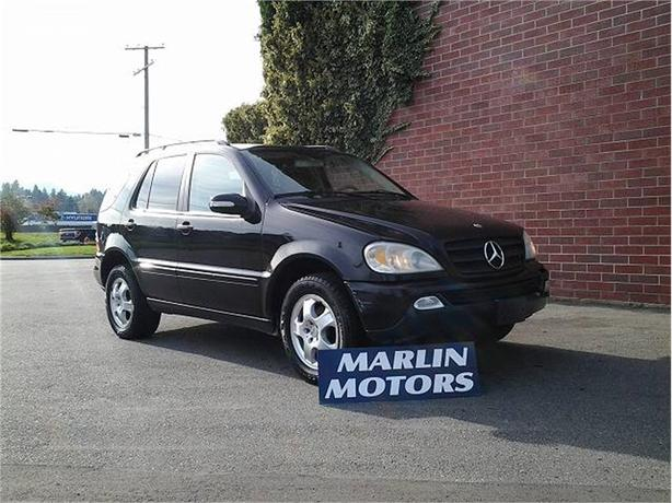 2002 Mercedes-Benz ML320 ML320