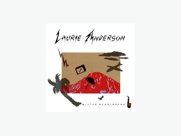 Laurie Anderson Mister Heartbreak LP
