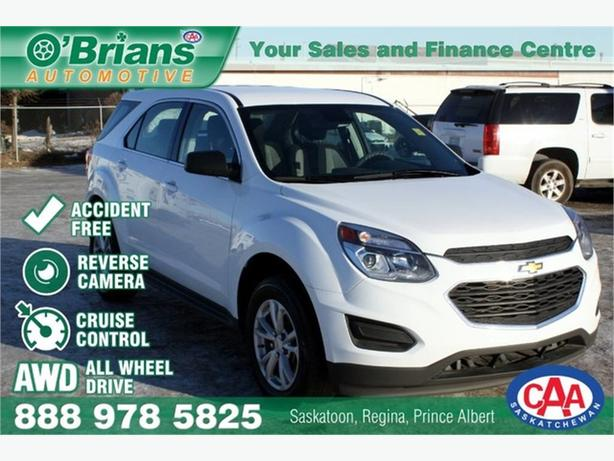 2017 Chevrolet Equinox LS - Accident Free! w/AWD