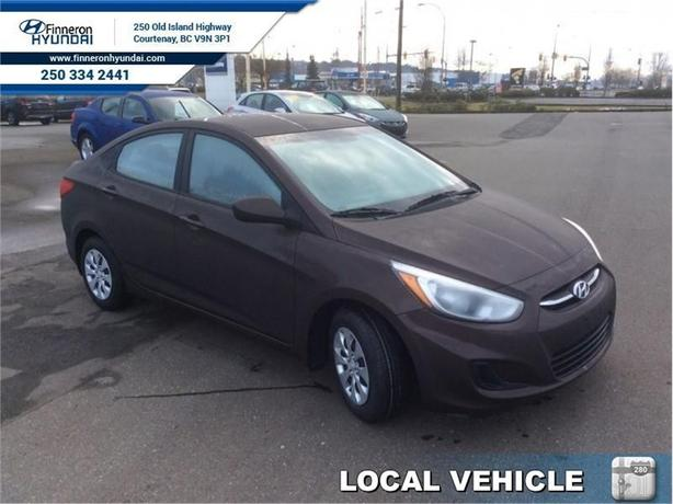 2015 Hyundai Accent GL  - local - trade-in - one owner