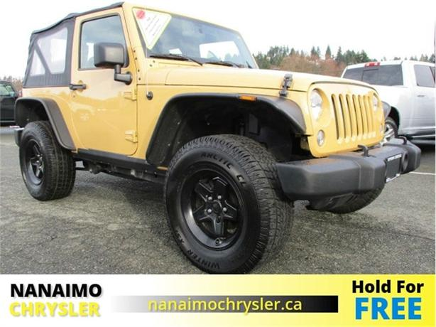 2014 Jeep Wrangler Sport One Owner No Accidents