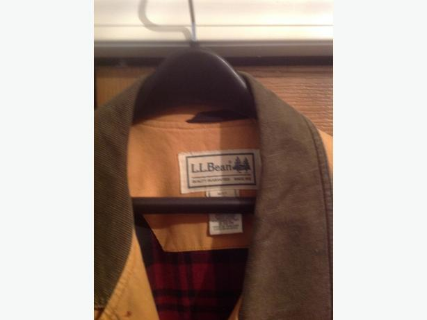 L.L.Bean Canvas Car Coat