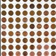 Set of Pennies from 1937 to 2012