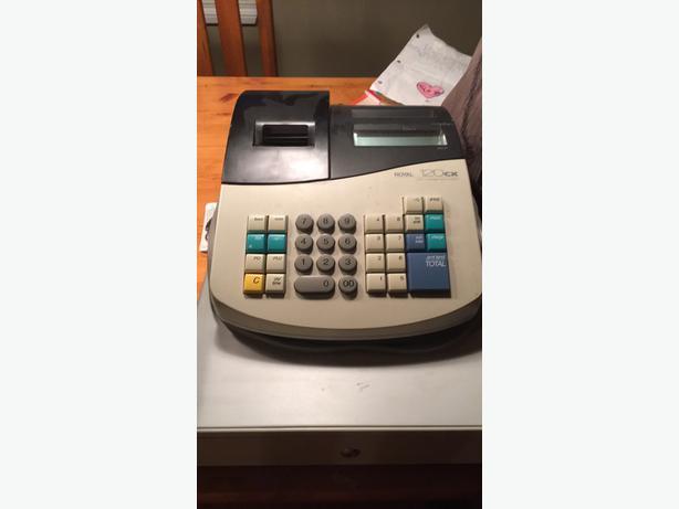 Cash Register Royal 120cx