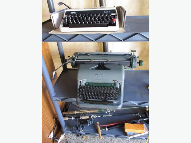 TWO MANUAL TYPEWRITERS FROM ESTATE