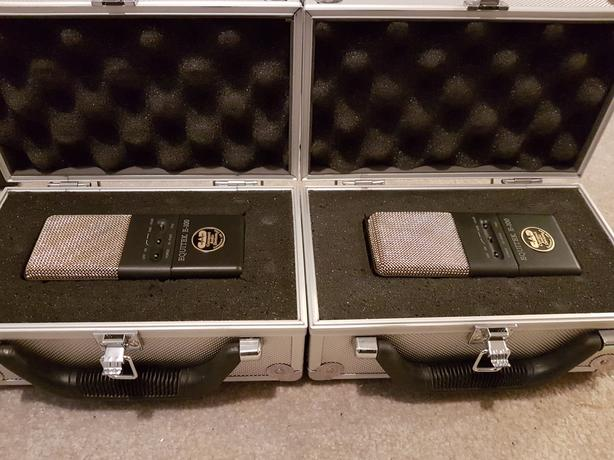 CAD Equitek E100 Microphone (matched pair with flight cases)
