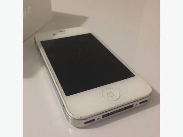 iPhone 5 white 16gb, Otterbox case