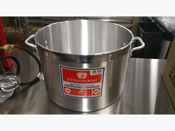 Commercial Aluminum Cookware - Restaurant Supply Auction