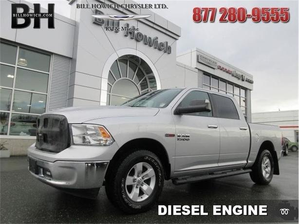 2015 Ram 1500 SLT - Trailer Hitch - Air - Rear Air - $240.37 B/W