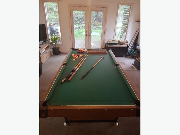 Pool Table West Shore LangfordColwoodMetchosinHighlands Victoria - Pool table scorekeeper