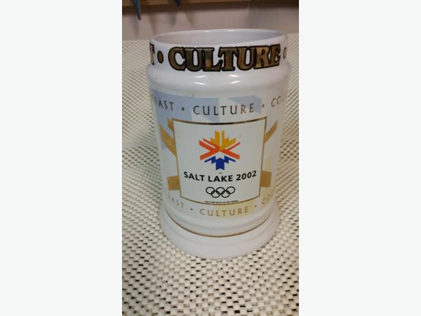 2002 Olympics Beer Stein