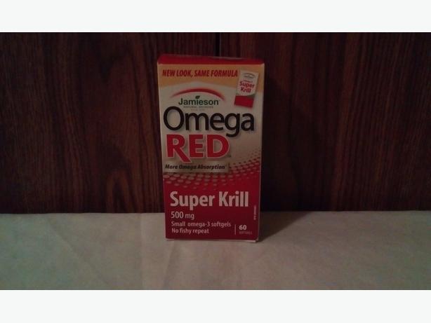 FREE Vitamin Omega red