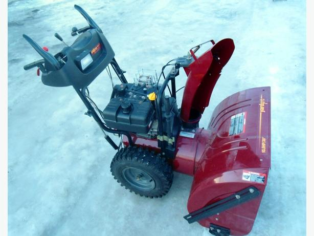 "YARD PRO 30"" 10.5 HP SNOW BLOWER"