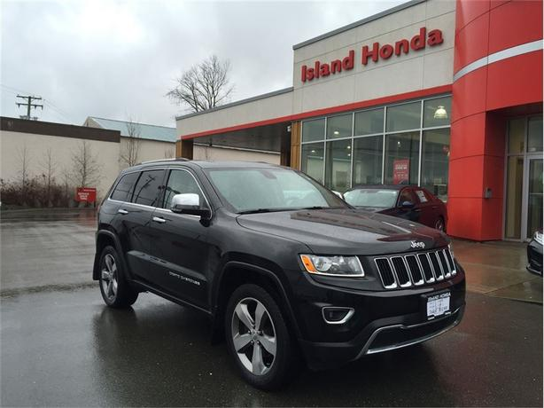 2014 Jeep Grand Cherokee Limited | AUTO | LEATHER | ONE OWNER