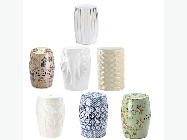 Ceramic Stool Side End Table Plant Stand 7 Different Designs Your Choice New
