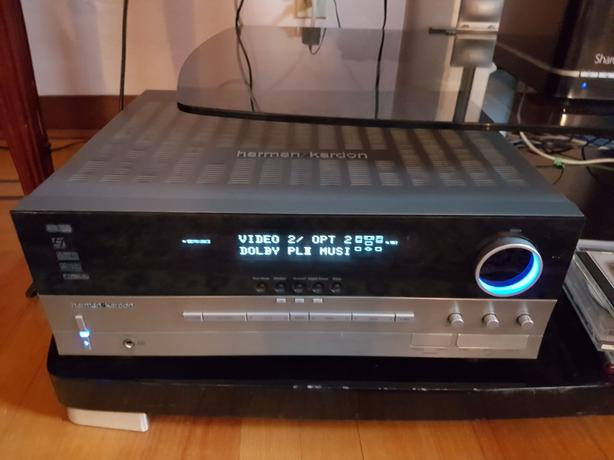Sony 46 LCD and stand, Harmon Kardon Receiver, speakers and sub