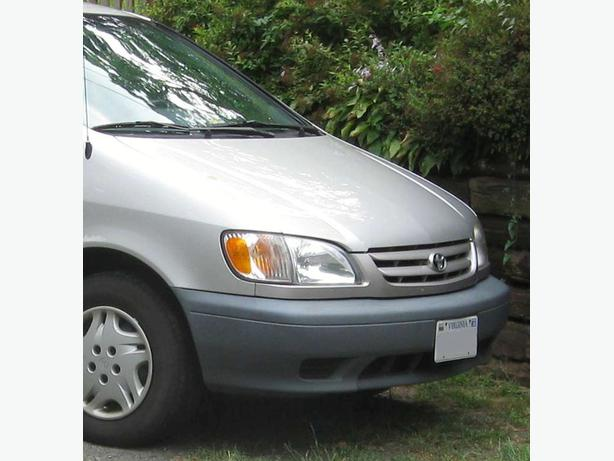 ★WANTED:  Want to Buy: 2001-03 TOYOTA SIENNA SILVER Hood , Grill ★