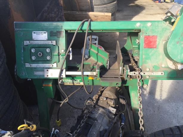 1399 Greenlee Heavy Duty Mobile BandSaw.