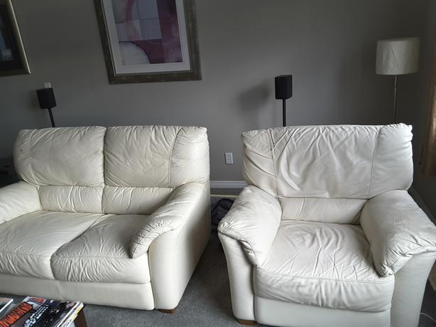 2 armchair + loveseat sofa