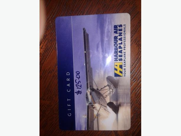$125 Harbour Air Gift Card for  $90 firm