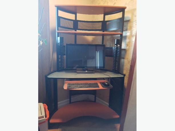 Corner Desk & Hutch